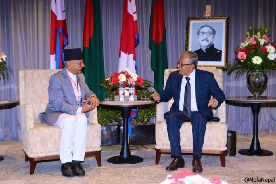'समृद्ध नेपाल, सुखी नेपाली' संकल्प साकार पार्न बंगलादेशले सघाउने'